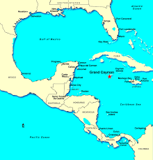 cayman island because of its location within mexico driving