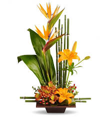 tropical flower arrangements grace arrangement tropical flowers and
