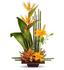flower arrangement grace arrangement tropical flowers and