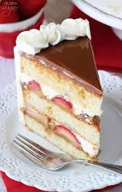 strawberry dulce de leche cake life love and sugar