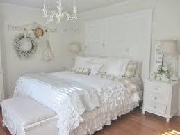 chambre romantique décoration chambre romantique shabby chic blanche photo de