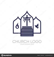 church logo christian symbols stairway to the cross of jesus