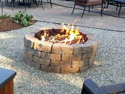 Uniflame Propane Fire Pit - small propane fire pit home depot uniflame lp gas outdoor table