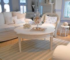 cottage style round coffee tables coffee table shabby chic furniture beach cottage 275 00 via etsy