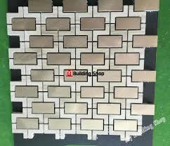 3d metal mosaic kitchen wall tile backsplash smmt111 stone mosaic