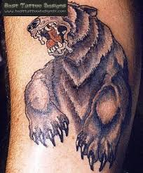 grizzly bear tattoo chest the best bear of 2018