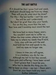 coping with loss of pet don t even try to read this without a kleenex at the ready you