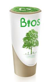 biodegradable bios urn turns ashes into trees