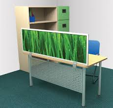 Office Desk Privacy Screen Obex Desk Mount Privacy Panels New York Office Furniture