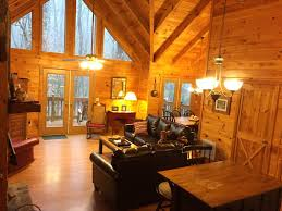 Small Cabin In The Woods Creek Front Mountain Cabin With Jacuzzi Vrbo