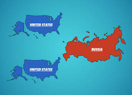 Show Map Of The United States by Maps Show The Size Of Countries Business Insider