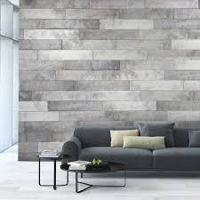 revetement mural bois revêtement mural décoratif duo béton panneaux muraux canac