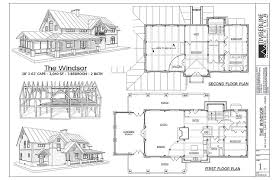 Timber Frame House Plans The Windsor Is A Farm House And Shingle Style Timber Frame House Plan