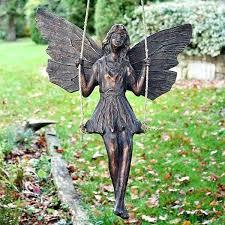 fairies garden ornaments miniature animals for garden solar