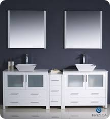 Bathroom Vanity With Side Cabinet 84