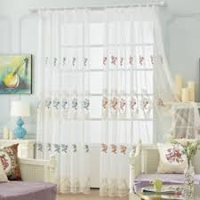 European Lace Curtains Embroidered Sheer Tulle European Lace Curtains Home Valances Mesh