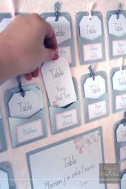Plan De Table En Bois by Best 25 Plan De Tables Ideas On Pinterest Mariage Marque Place