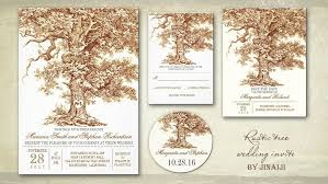 tree wedding invitations read more oak tree wedding invitations wedding