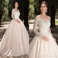 designer wedding dresses gowns discount 2018 fashion a line chagne wedding dress
