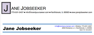 Examples Of Resume Names by How To Write A Great Resume Part 1 Of 4 U2013 The Header Brand Your