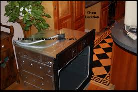 how to install a wall oven in a base cabinet how to install an under the counter oven