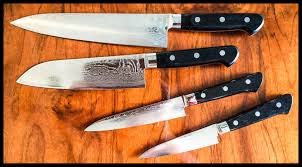 Knives In The Kitchen Six Knives You Need In The Kitchen
