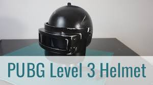 pubg level 3 helmet 3d printed pubg level 3 cosplay helmet youtube