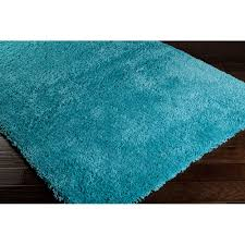 Chocolate Brown And Blue Area Rug by Fuzzy Blue Rug Roselawnlutheran