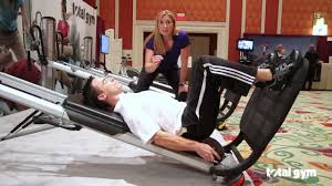 total gym applications for physical therapy hip youtube