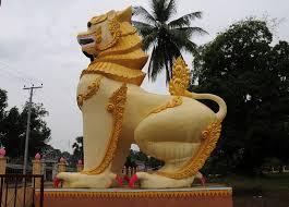 asian lion statues statue