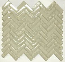 mango sherlong cream herringbone glass tile sheets