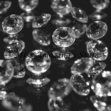gems for table decorations 2000pcs clear 4 5mm 1 3 carat acrylic crystal gems confetti