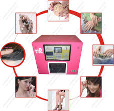 new flower fashion shop digital art pro nail printer with