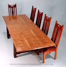 Cherry Dining Table Hake Cherry Dining Table Lohr Woodworking Studio