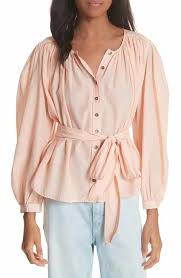 womens cotton blouses s collared button tops tees nordstrom