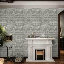 aliexpress com buy shabby chic vintage vinyl grey brick