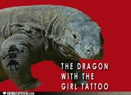 tattoo girl meme i can has cheezburger the girl with the dragon tattoo funny