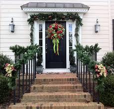Christmas Railing Decorations Porch Railing Decorations For Christmas Trendy Mods Com