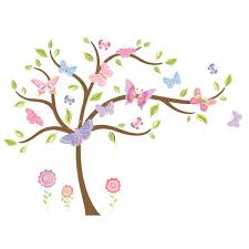products lambs ivy butterfly garden jumbo wall appliques