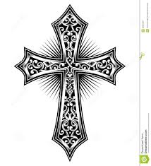 simple black cross tattoo simple christian cross designs google search projects to try