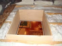attic access door meets new energy codes 22x30 r 42 no lock