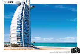 fuji print advert by longplay burj al arab ads of the world