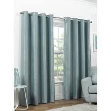 Premium Curtains B M Valencia Textured Premium Blackout Eyelet Curtain 46 X 54