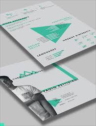 beautiful resume templates 50 beautiful free resume cv templates in ai indesign psd formats
