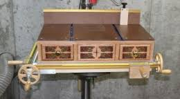 Diy Drill Press Table by Homemade X Y Drill Press Table Homemadetools Net