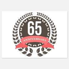 65 wedding anniversary 65th wedding anniversary invitations for 65th wedding anniversary