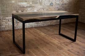Modern Industrial Desk by The River Of Dreams U2013 Howards Woodshop