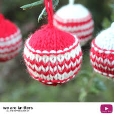 how to knit ornaments we are knitters studio