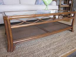 coffee table wicker coffee table with storage home sh round rattan