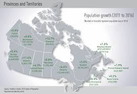 Newfoundland Canada Map by Despite Oil Crash Alberta Helps Power Canada U0027s Population Past 35